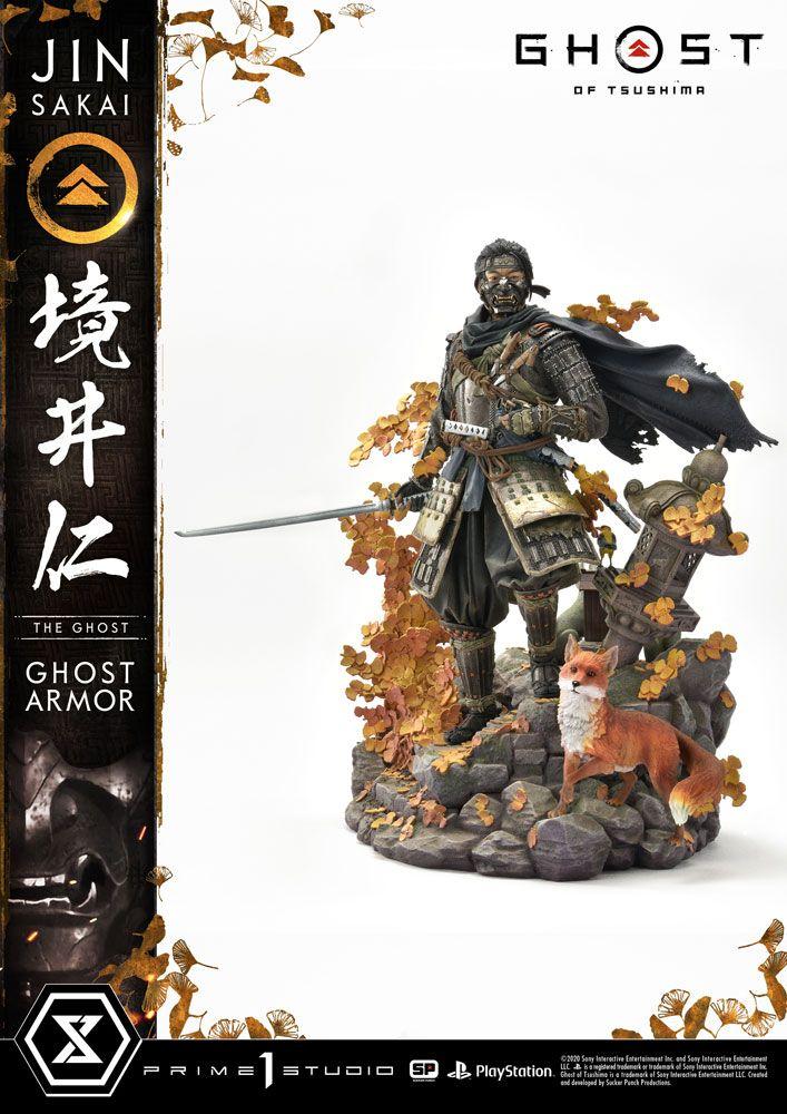 Ghost of Tsushima Statue 1/4 Jin Sakai 58 cm