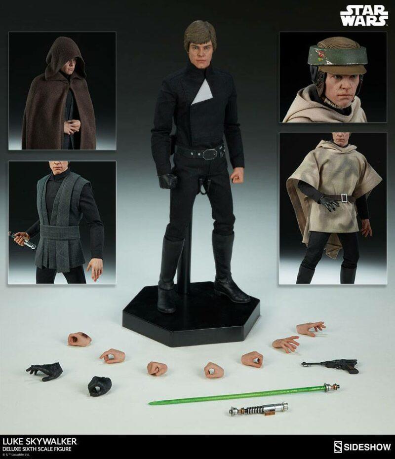 Star Wars Episode VI Deluxe Action Figure 1/6 Luke Skywalker 30 cm