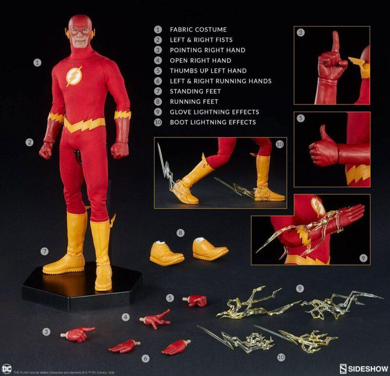DC Comics Action Figure 1/6 The Flash 30 cm