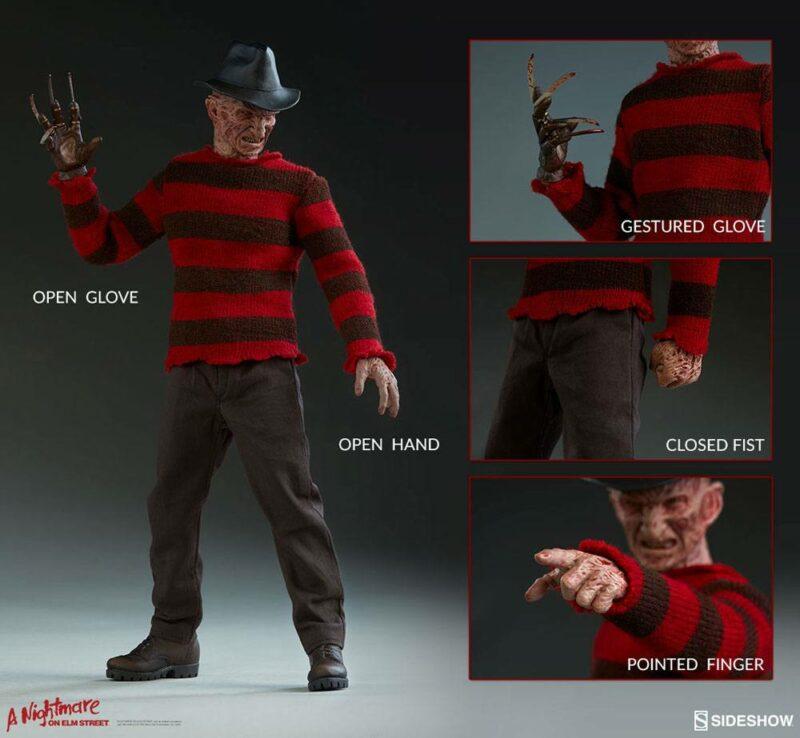 Nightmare on Elm Street 3 Dream Warriors Action Figure 1/6 Freddy Krueger 30 cm