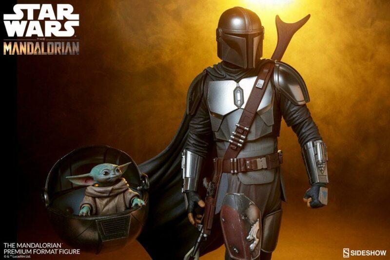 Star Wars The Mandalorian Premium Format Figure The Mandalorian 51 cm