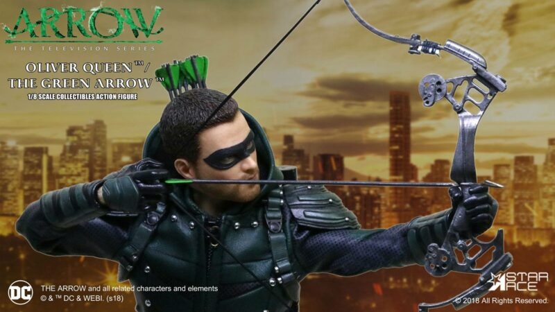 Arrow Real Master Series Action Figure 1/8 Green Arrow Deluxe Version 23 cm