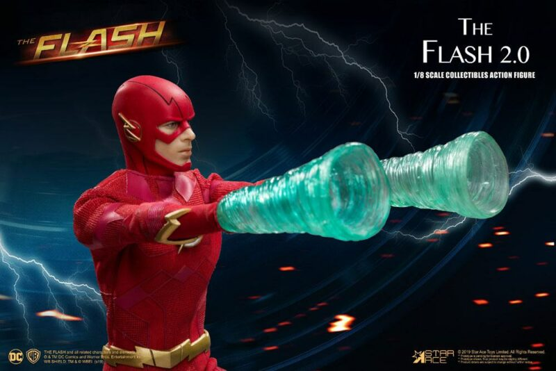 The Flash Real Master Series Action Figure 1/8 The Flash 2.0 Deluxe Version 23 cm