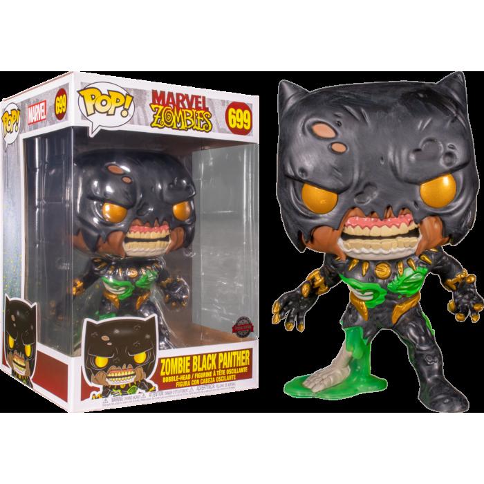 Marvel Zombies POP! Oversized Vinyl Figure Zombie Black Panther Limited  25 cm