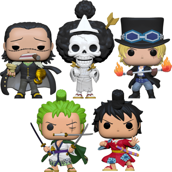 One Piece - I Like The Brook Of This Pop! Vinyl Bundle (Set of 5)