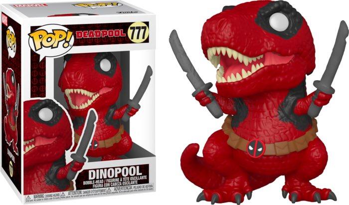Deadpool POP! Marvel Vinyl Figure Dinopool 30th Anniversary Limited 9 cm