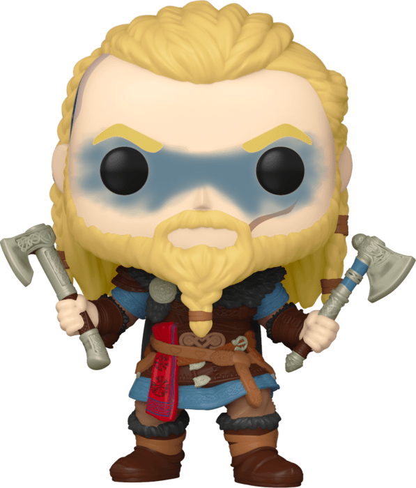 Assassin's Creed POP! Movies Vinyl Figure Eivor with two axesLimited 9 cm