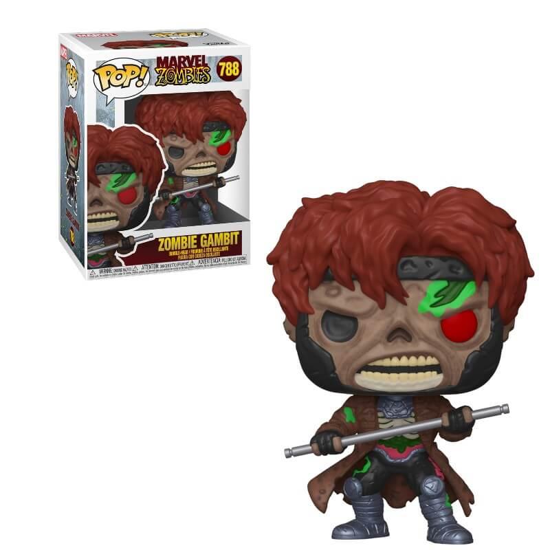 Marvel Zombies POP! Vinyl Figure Zombie Gambit 9 cm
