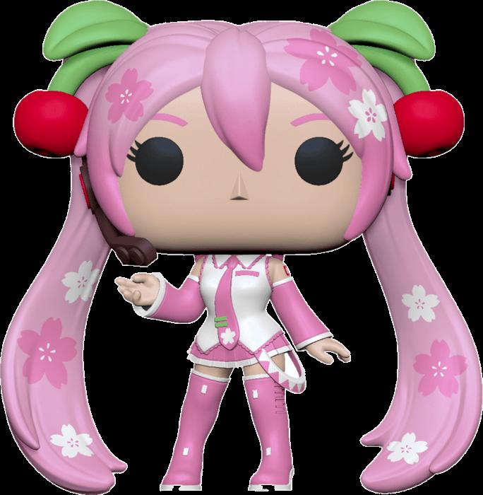 Vocaloid POP! Animation Vinyl Figure Hatsune Cherry Blossom Limited 9 cm