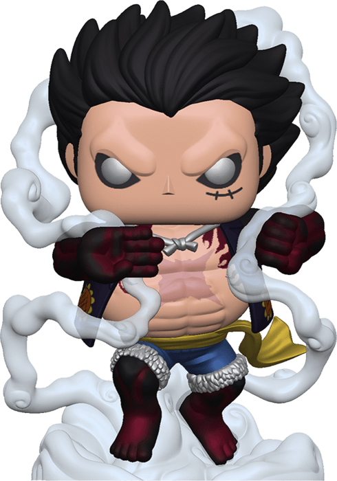 One Piece POP! Animation Vinyl Figure Monkey D. Luffy Gear Fourth Metallic Limited 9 cm