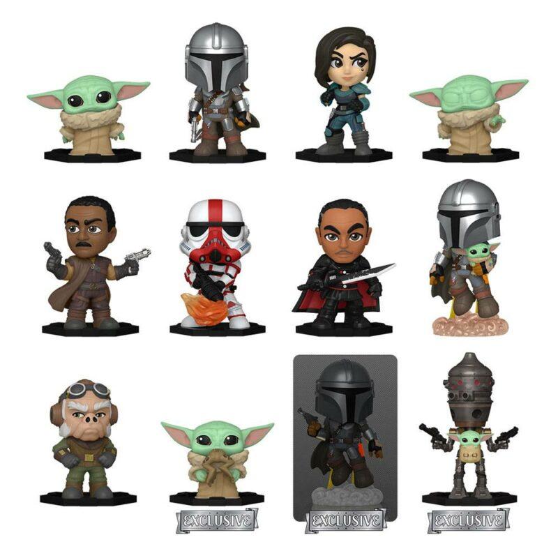 Star Wars: The Mandalorian Mystery Mini Figures 5 cm Display Specialty Series (12)