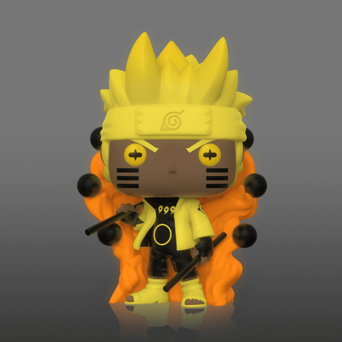 Naruto Shippuden POP! Animation Vinyl Figure Naruto Six Path Sage Mode Glow in the Dark  9 cm