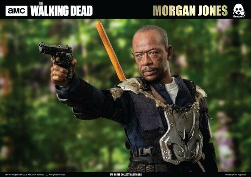 The Walking Dead Action Figure 1/6 Morgan Jones 30 cm