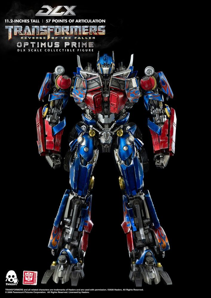 Transformers: Revenge of the Fallen DLX Action Figure 1/6 Optimus Prime 28 cm