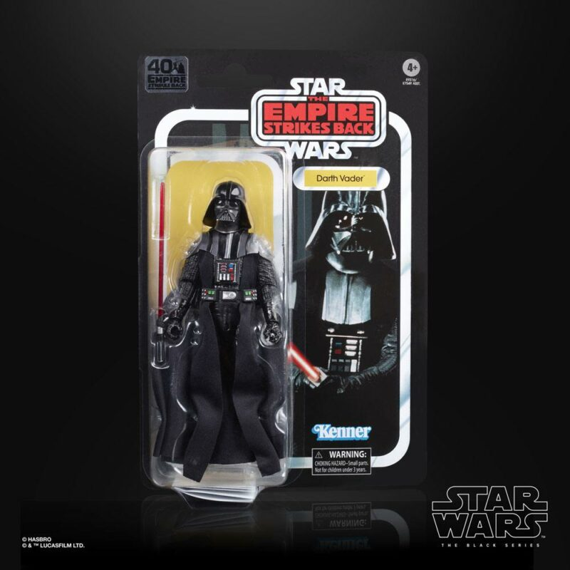 Star Wars Episode V Black Series 40th Anniversary 2020 Wave 3 Action Figure Darth Vader 15 cm