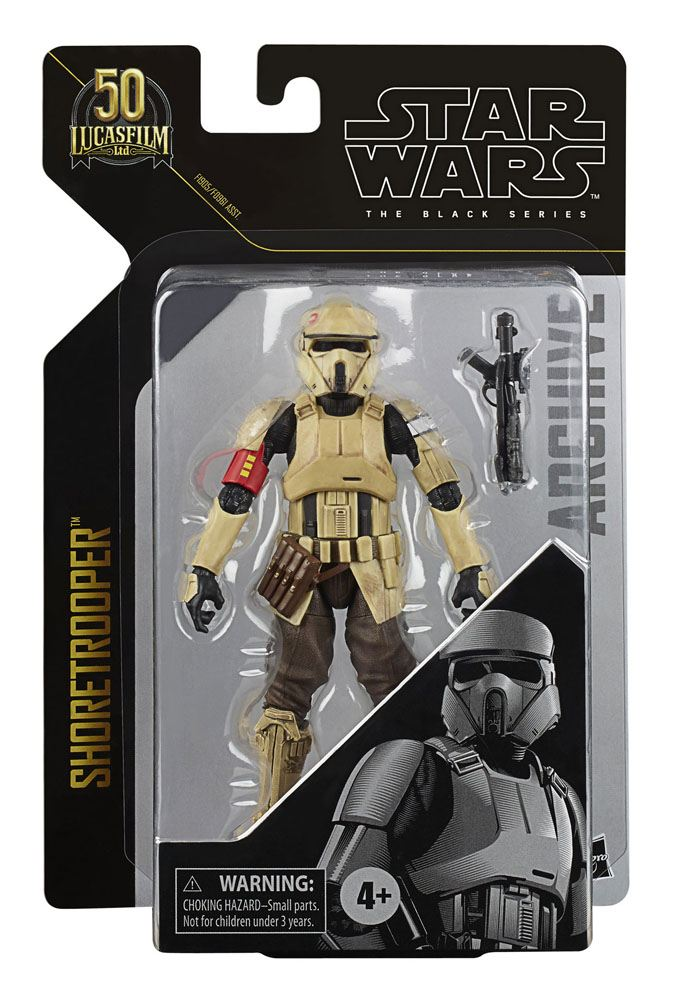 Star Wars Black Series Archive 2021 50th Anniversary Wave 2 Action Figure Shoretrooper (Rogue One) 15 cm