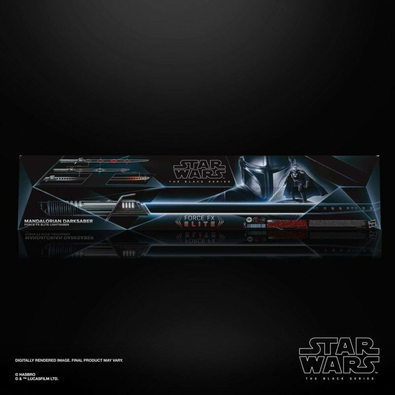 Star Wars The Mandalorian Black Series Replica 1/1 Force FX Elite Lightsaber Mandalorian Darksaber