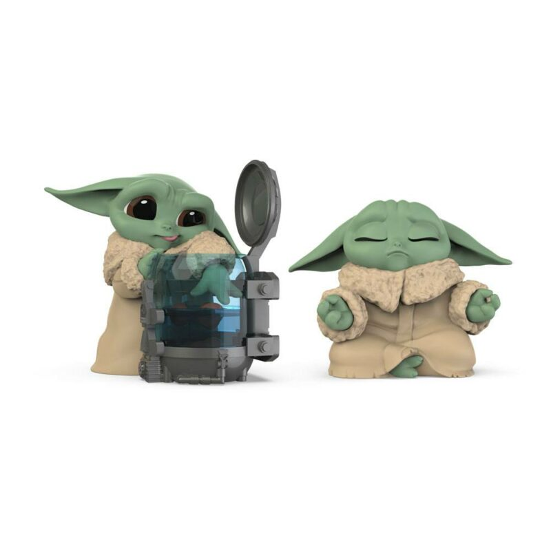 Star Wars Mandalorian Bounty Collection Figure 2-Pack The Child Curious Child & Meditation