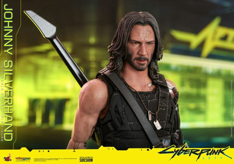 Cyberpunk 2077 Video Game Masterpiece Action Figure 1/6 Johnny Silverhand 31 cm