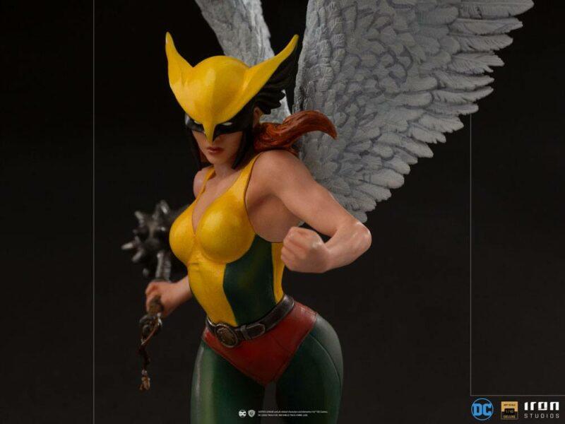 DC Comics Deluxe Art Scale Statue 1/10 Hawkgirl 36 cm