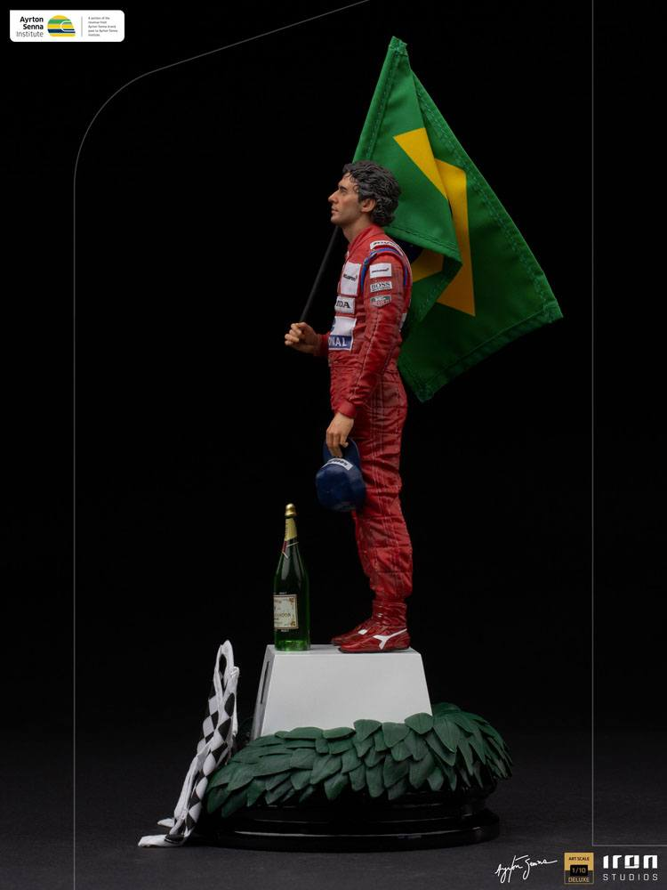 Ayrton Senna Art Scale Statue 1/10 Ayrton Senna (GP Brazil 1991) 30 cm