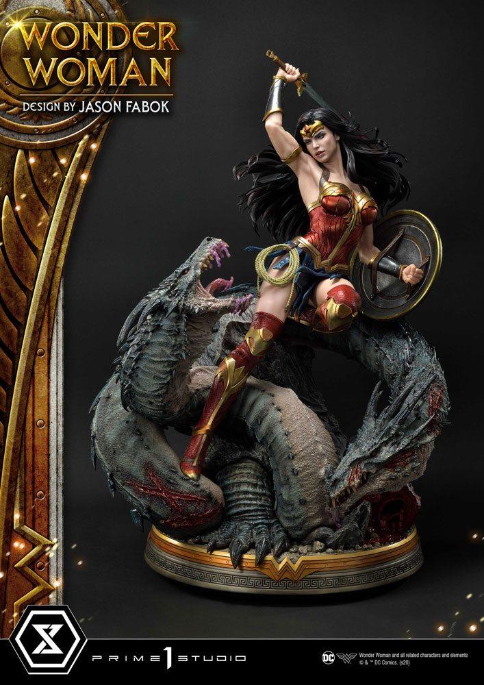 Wonder Woman Statue 1/3 Wonder Woman vs. Hydra 81 cm