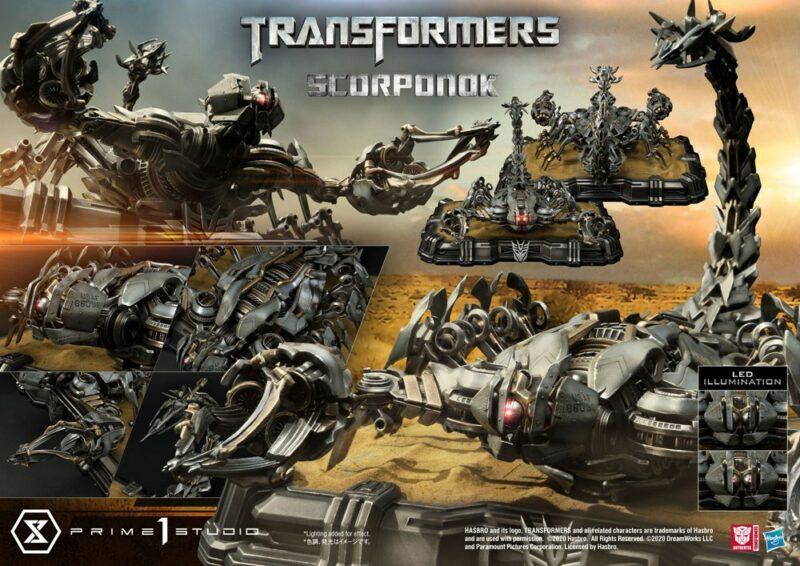 Transformers Statue Scorponok 49 cm