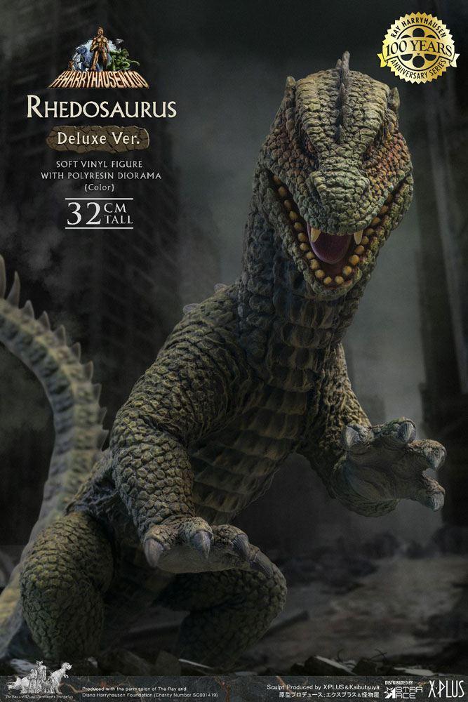 The Beast from 20,000 Fathoms Soft Vinyl Statue Ray Harryhausens Rhedosaurus Color 32 cm