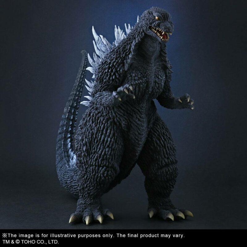 Godzilla 2002 TOHO Large Kaiju Series PVC Statue Godzilla 27 cm