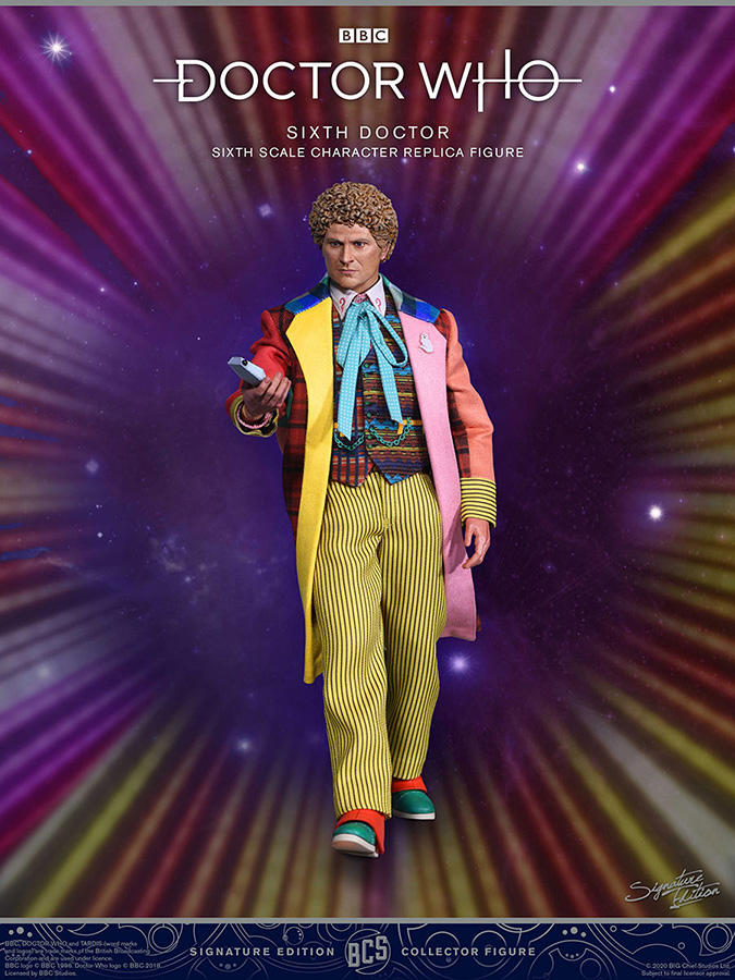 Doctor Who Collector Figure Series Action Figure 1/6 6th Doctor (Colin Baker) Limited Edition 30 cm