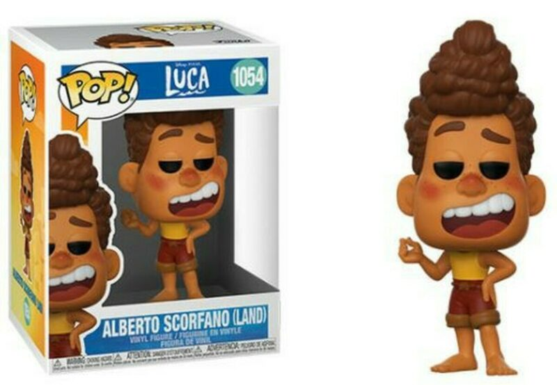 Luca POP! Disney Vinyl Figure Alberto (Human) 9 cm