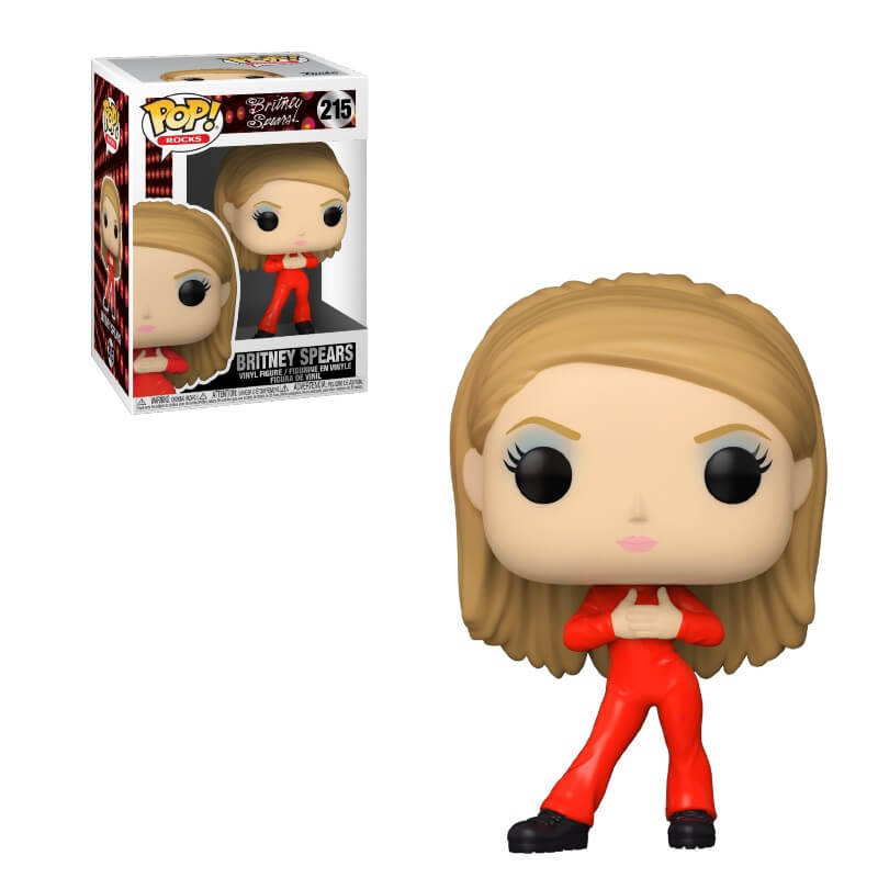 Britney Spears POP! Rocks Vinyl Figure Catsuit Britney 9 cm