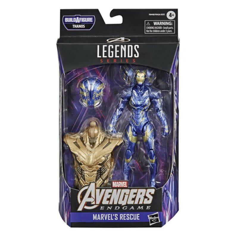 """Avengers 4: Endgame – Marvel's Rescue Marvel Legends 6"""" Action Figure 15 cm"""
