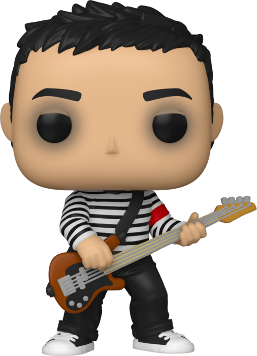 Fall Out Boy POP! Rocks Vinyl Figure Pete Wentz in Black & White Sweater Limited 9 cm