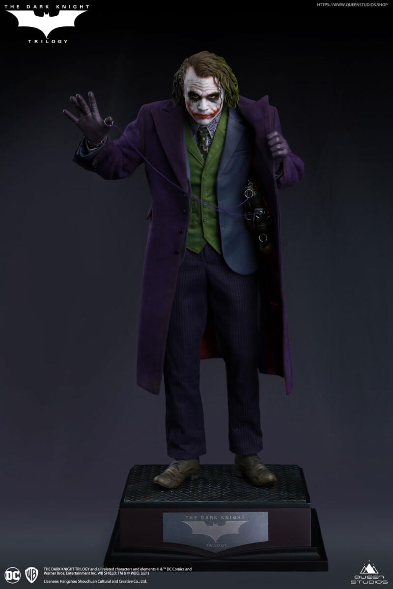 Batman The Dark Knight Statue 1/4 Heath Ledger Joker Artists Edition 52 cm