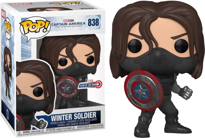 Captain America 2: The Winter Soldier Pop! - Vinyl Figure Winter Soldier Year of the Shield Limited 9 cm