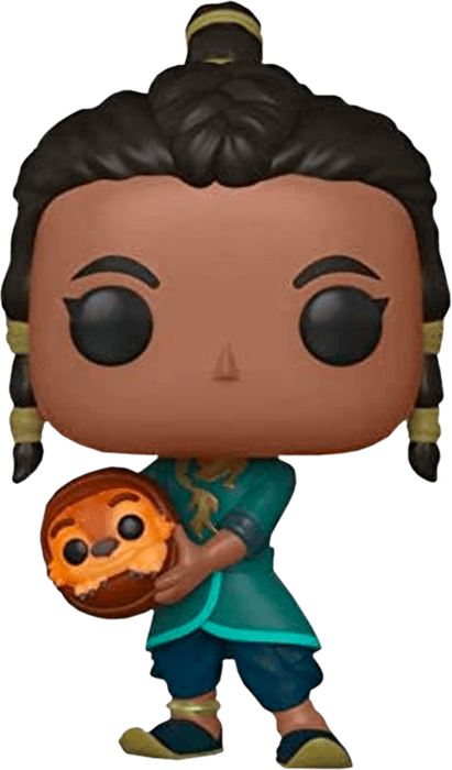 Raya and the Last Dragon POP! Disney Vinyl Figure Young Raya with baby Tuk Tuk Limited 9 cm