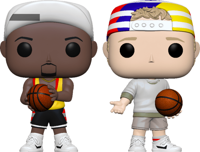 White Men Can't Jump POP! Movies 2-pack Vinyl Figures Billy & Sidney Limited 9 cm