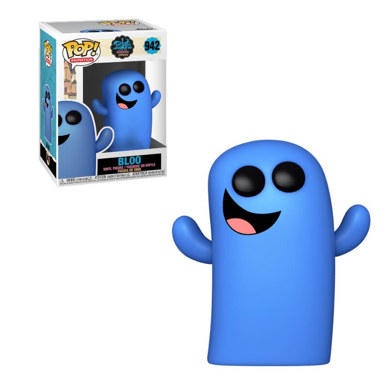 Foster's Home for Imaginary Friends POP! Television Vinyl Figure Bloo 9 cm