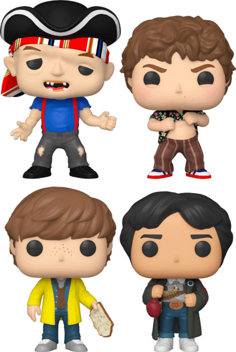 The Goonies - The Truffle Shuffle Pop! Vinyl Bundle (Set of 4)