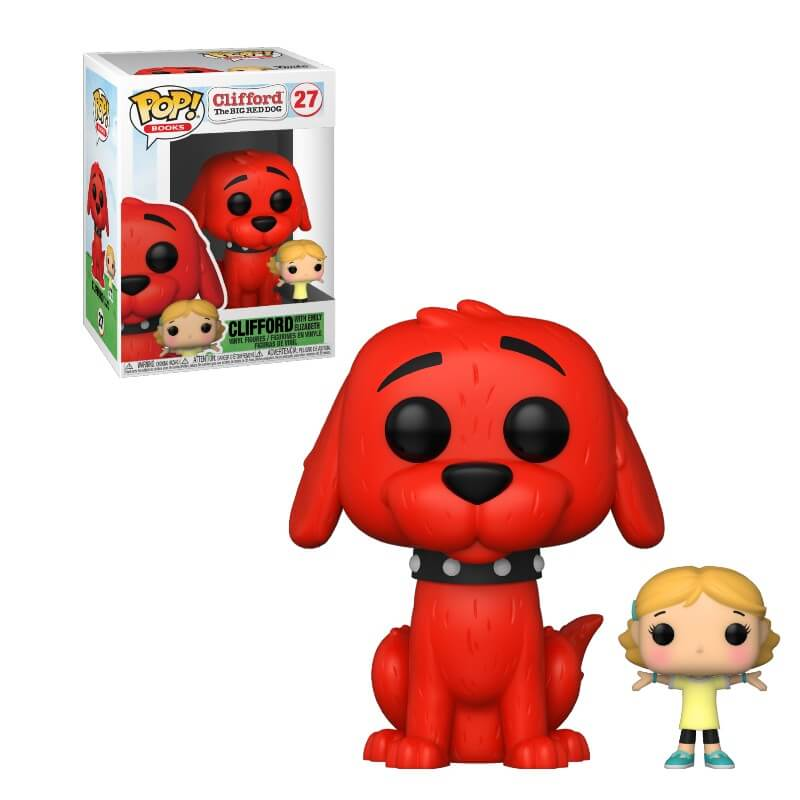 Clifford the Big Red Dog POP! Vinyl Figure Clifford w/Emily 9 cm