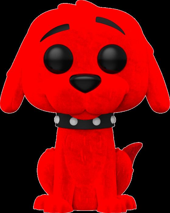 Clifford the Big Red Dog POP! Vinyl Figure Clifford Flocked Limited 9 cm