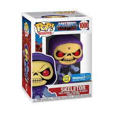 Masters of the Universe POP! Television Vinyl Figure Skeletor Glow in the Dark Limited 9 cm (con bollino Special Edition)