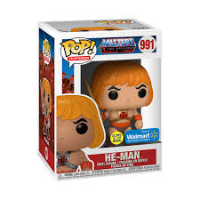 Masters of the Universe POP! Television Vinyl Figure He-Man Glow in the Dark Limited 9 cm (con bollino Special Edition)