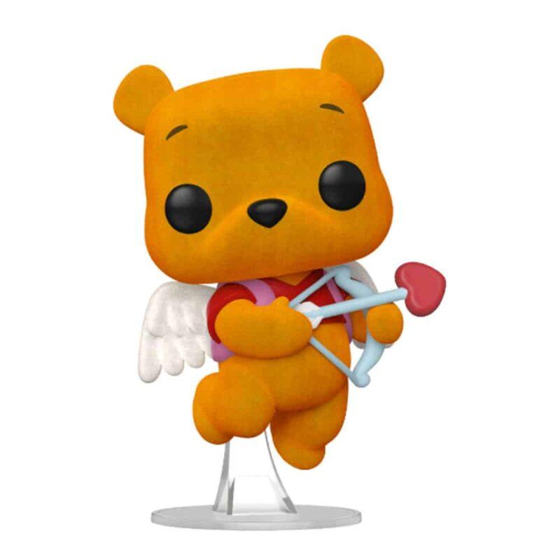 Winnie the Pooh! Winnie the Pooh Valentines Flocked Vinyl Figure Limited