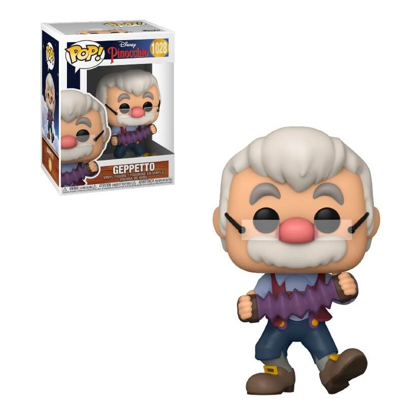 Pinocchio POP! Vinyl Action Figure Geppetto 80th Anniversary 9 cm