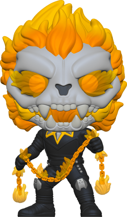 Infinity Wraps POP! Vinyl Figure Ghost Panther Glow in the Dark Limited 9 cm