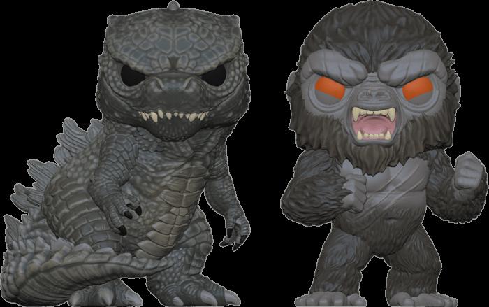 Godzilla Vs Kong POP! Movies 2-pack Vinyl Figures Kong & Godzilla Limited 9 cm