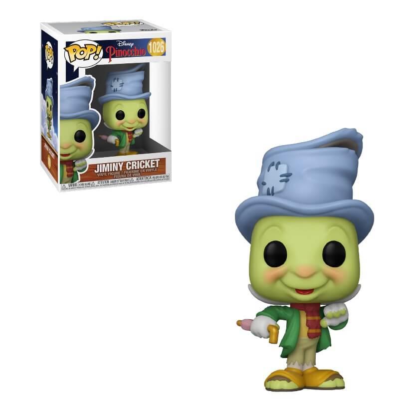 Pinocchio POP! Vinyl Action Figure Street Jiminy Cricket 80th Anniversary 9 cm