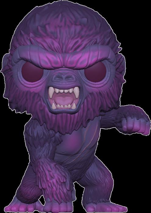 Godzilla Vs Kong POP! Movies Vinyl Figure Kong Purple City Lights Limited 25 cm